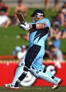 Daniel Smith pulls during his unbeaten 185, New South Wales v Victoria, Ryobi Cup, Sydney, October 30 2011