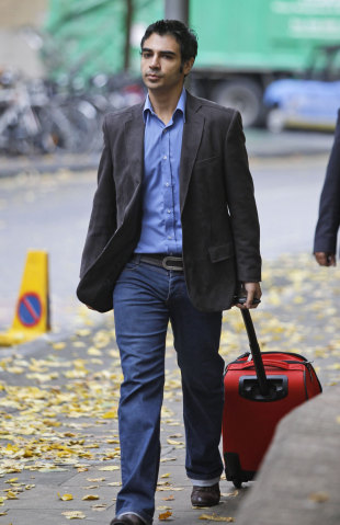 Salman Butt heads to court on the day the verdicts were delivered, London, November 1, 2011