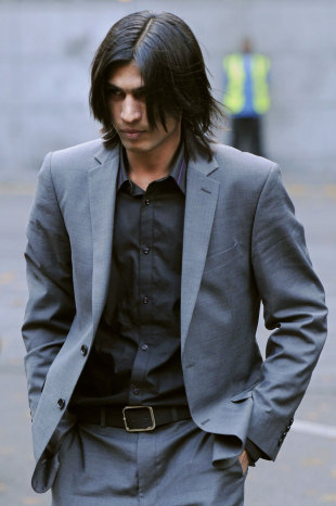 Mohammad Amir arrives for his sentencing process, London, November 2, 2011