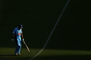 Simon Katich made 61 before he was dismissed, New South Wales v South Australia, Ryobi Cup, Sydney, November 4 2011