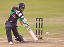 Dolphins' captain Imraan Khan drives, Franchise 1-Day Cup, Dolphins v Cape Cobras, Durban, November 4, 2011