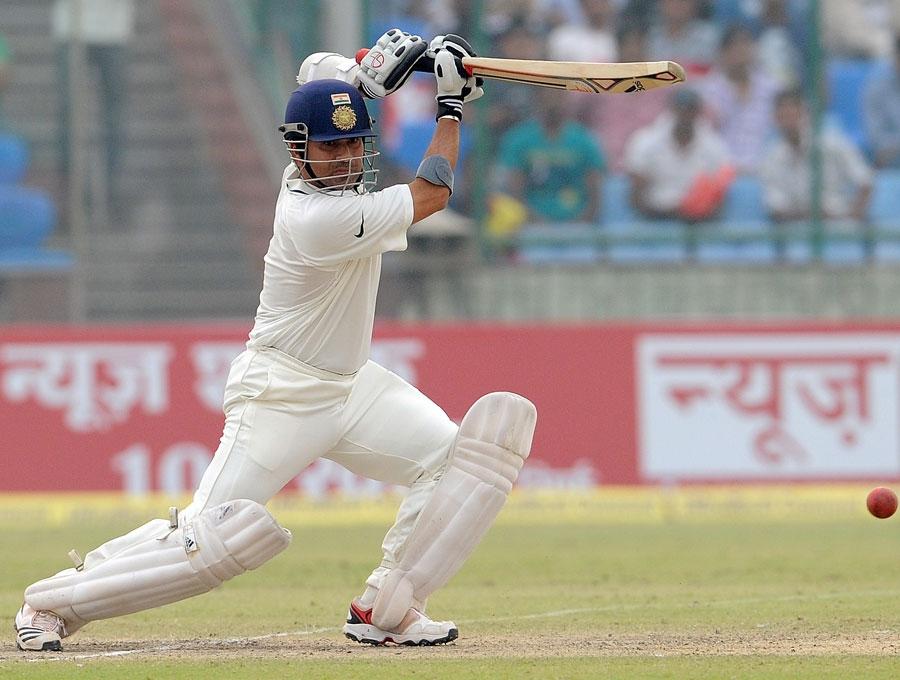 Sachin Tendulkar plays a cover drive | Cricket Photo ... Sachin Tendulkar Cover Drive