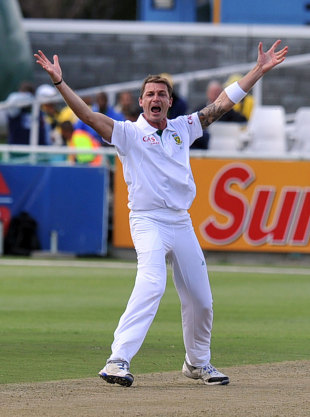 Dale Steyn: in the ionosphere while the rest battle it out in the troposphere