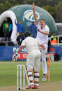 Morne Morkel had Michael Hussey inside-edging to the keeper, South Africa v Australia, 1st Test, Cape Town, 1st day, November 9, 2011