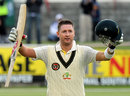 Michael Clarke completed his 16th Test century, South Africa v Australia, 1st Test, Cape Town, 1st day, November 9, 2011