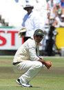 Ricky Ponting on his haunches as Australia slump to a loss, South Africa v Australia, 1st Test, Cape Town, 3rd day, November 11, 2011