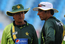 Mohsin Khan and Misbah-ul-Haq have a chat