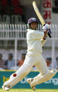 SS Das plays a shot on his way to a hundred, India v Zimbabwe, second Test, Nagpur, 1st day, November 25, 2002