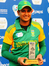 Trisha Chetty was Player of the Match against USA for her 95, South Africa Women v USA Women, Group A match, ICC Women's World Cup Qualifier, Savar, November 15, 2011