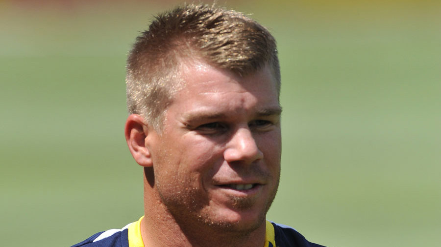 David Warner joined the Australia Test squad on Tuesday