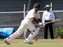 Amit Verma works the ball to the leg side on the way to 173, Mumbai v Karnataka, Ranji Trophy Elite League, Mumbai, 2nd day, November 18, 2011