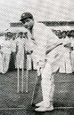 Lala Amarnath, aged 49, in the nets before leading the Bombay Cricket Association President's XI against Pakistanis, Brabourne Stadium, Bombay, February 18, 1961