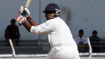 Suryakumar Yadav flicks one to the leg side