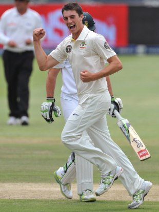 Pat Cummins to 6 for 79 on debut, South Africa v Australia, 2nd Test, Johannesburg, 4th day, November 20, 2011