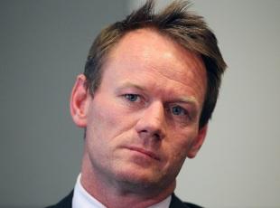Pat Howard, Australia's team performance manager, at a press conference, Melbourne, November 22, 2011