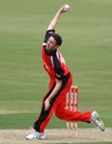 Jake Haberfield took 4 for 50, South Australia v Quensland, Ryobi Cup, Adelaide Oval, November 23, 2011