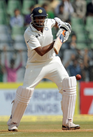 R Ashwin got to his maiden Test ton off 117 balls, India v West Indies, 3rd Test, Mumbai, 4th day, November 25, 2011