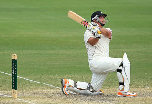 Jesse Ryder muscled 16 sixes on his way to 175, Australia A v New Zealanders, Brisbane, Day 4, November 27, 2011