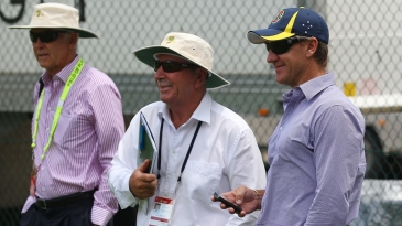Australia's selectors, John Inverarity, Rod Marsh and Andy Bichel