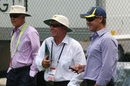 Australia's selectors, John Inverarity, Rod Marsh and Andy Bichel, Brisbane, November 29, 2011