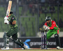 Umar Akmal is stumped by Mushfiqur Rahim, Bangladesh v Pakistan, only Twenty20, Mirpur, November 29, 2011