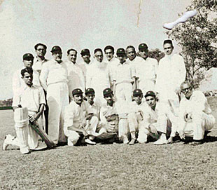 Bohra cricket on Calcutta's maidan in the fifties