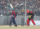 Mark Ferguson makes a clean take as Nepal's Mahboob Alam plays and misses during the ACC Twenty20 Cup 2011 match played at Tribhuvan University in Kathmandu on 3rd December 2011