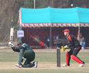 Saudi Arabia's Kashif Shafiq paddles a ball to the boundary during his innings of 70 against Hong Kong at the ACC Twenty20 Cup 2011 in Kathmandu on 5th December 2011