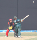 Saudi Arabia's Kashif Shafiq lofts the ball down the ground during his innings of 70 against Hong Kong at the ACC Twenty20 Cup 2011 in Kathmandu on 5th December 2011