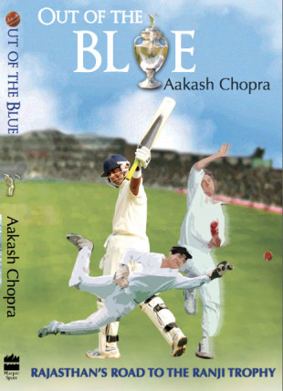 Cover image of <i>Out of the Blue</i> by Aakash Chopra