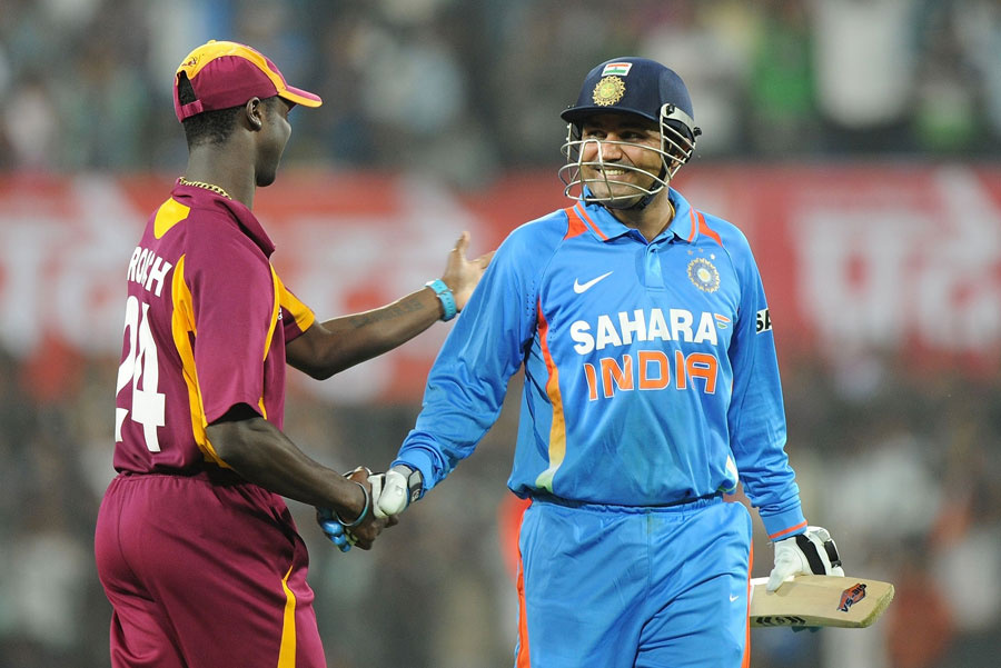 Virender Sehwag 219 Runs world record