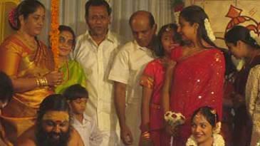 Muttiah Muralitharan's wedding