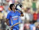 Manoj Tiwary hit a maiden one-day hundred