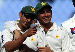 Abdur Rehman and Saeed Ajmal sliced through the lower order