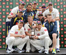 Australia retained the Trans-Tasman Trophy despite losing the second Test, Australia v New Zealand, 2nd Test, Hobart, 4th day, December 12 2011