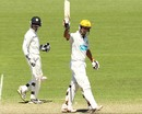 Wes Robinson resisted the Indian attack during a patient innings, Cricket Australia Chairman's XI v Indians, Canberra, 1st day, December 15, 2011