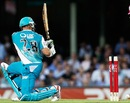 Matthew Hayden is bowled, Sydney Sixers v Brisbane Heat, Big Bash League, SCG, December 16, 2011