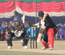 Courtney Kruger batting against UAE