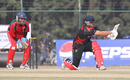 Courtney Kruger fell LBW against Oman at ACC Twenty20 Cup 2011 in Kathmandu on 9th December 2011