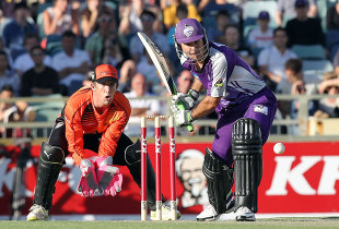 Ricky Ponting opened the innings for Hobart Hurricanes, Perth Scorchers v Hobart Hurricanes, Big Bash League, Perth, December 18, 2011