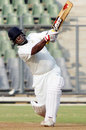 Ramesh Powar fetched two sixes in his 81, Mumbai v Punjab, Ranji Trophy Elite, Mumbai, 3rd day, December 23, 2011