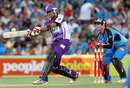 Owais Shah bats for Hobart Hurricanes