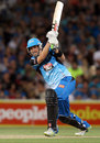 Tom Cooper made an unbeaten 43 off 27 balls, Adelaide Strikers v Hobart Hurricanes,  BBL, Adelaide, December 28, 2011
