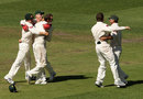 Australia celebrate winning the Boxing Day Test