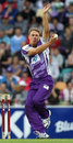 Matt Johnston bowls with a wrong-footed action, Hobart Hurricanes v Sydney Thunder, BBL, Hobart, January 1, 2012
