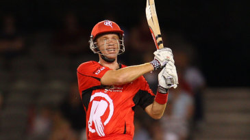 Andrew McDonald hit seven sixes and no fours in his 60