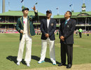 India chose to bat in Sydney, Australia v India, 2nd Test, Sydney, 1st day, January 3, 2012