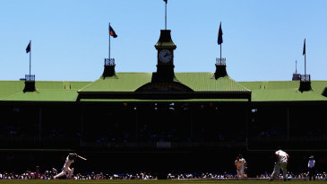 The SCG hosts its 100th Test