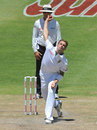 Dale Steyn bowls in Sri Lanka's second innings, South Africa v Sri Lanka, 3rd Test, Cape Town, January, 5, 2012