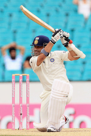 Sachin Tendulkar played some good-looking strokes, Australia v India, 2nd Test, Sydney, 4th day, January 6, 2012